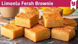 Namıdiğer Blondie:  Limonlu Ferah Brownie - Tatlı Tarifleri   Yemek.com