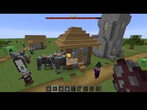 Minecraft - What Happens When the Pillagers Win a Raid?