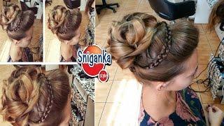 Прическа в греческом стиле. Greek Hairstyle