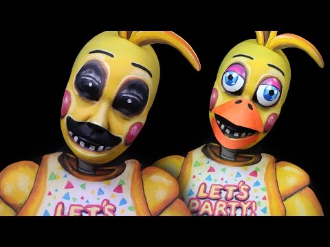 Toy Chica Make-Up Tutorial | Five Nights At Freddy's 2