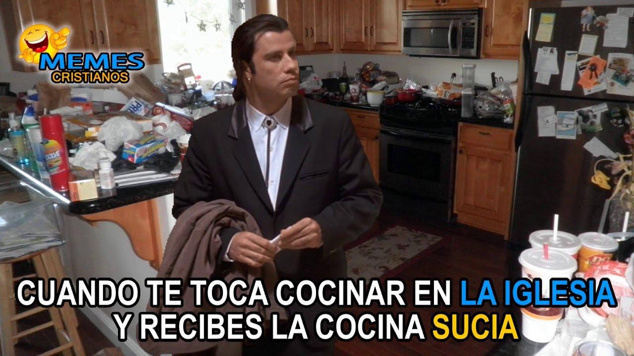 Cuando Te Toca Cocinar Y Te Dejan La Cocina Sucia Youtube