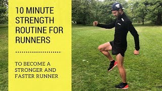 Runners Strength Workout - Quick and Easy - For Runners and Injury Prevention
