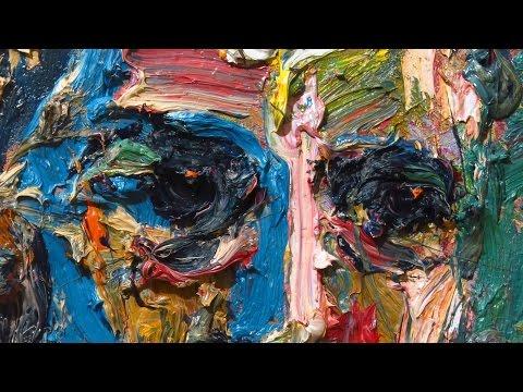 m950 original oil painting expressionism impressionist art realism arts portrait impasto