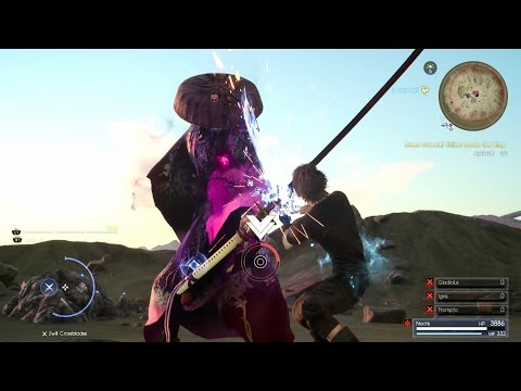 FINAL FANTASY XV - Ayakashi / Yojimbo Level 110 Boss Fight Gameplay l EPIC FIGHT PS4 Pro