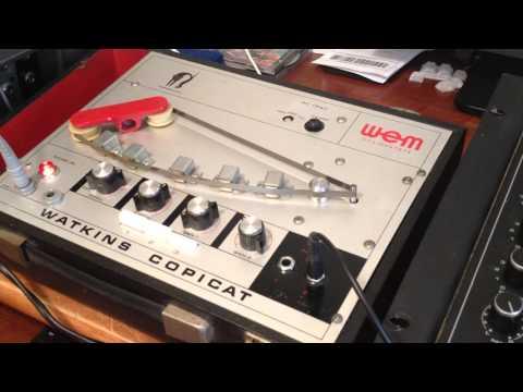 WEM Watkins Copicat Analog Tape Delay SS with Wet / Dry Mod