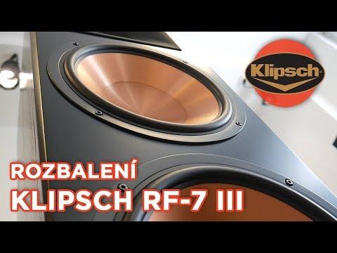 Klipsch RF-7 III | Rozbalujeme monstra 💣