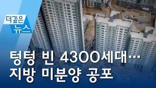 [더깊은뉴스] 텅텅 빈 4300세대…지방 미분양 공포 | 뉴스A