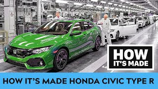 How it's made Honda Civic Type R - assembly |CAR REVIEW|