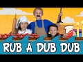 Rub a Dub Dub Three Men in a Tub | Nursery Rhyme