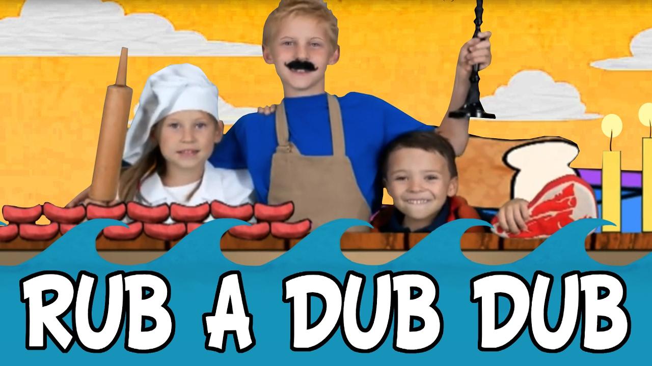 Rub a Dub Dub Three Men in a Tub | Nursery Rhyme - YouTube