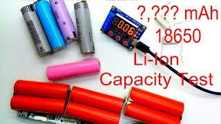 battery Capacity Tester, Old Laptop Cell Li-ion 18650 with ZB2L3 Module