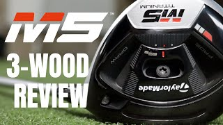 Taylormade M5 3-Wood Review - Is It As Good As It Looks?