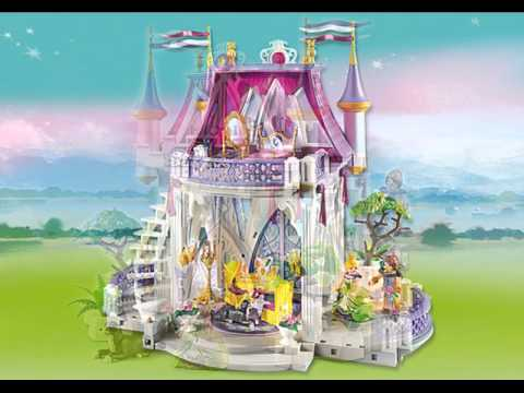 Prsentation collection Playmobil 2014  Les princesses  YouTube