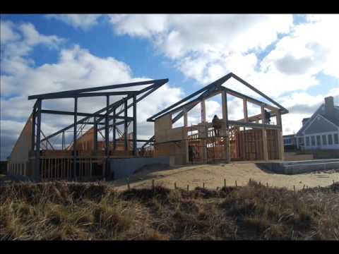 Energy Efficient Cape Cod Beach House Construction YouTube