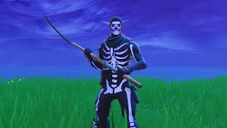 *New* OG Purple Skull Trooper Skin Gameplay (Fortnite Battle Royale)