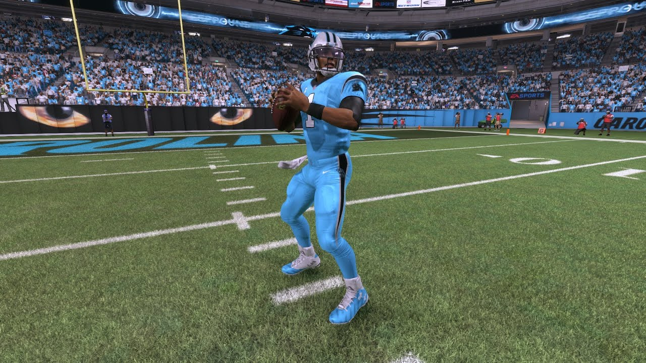 best website 123c5 db786 PANTHERS COLOUR RUSH UNIFORMS! CHOKING WITH CAM NEWTON!!! Madden 17 Online  Ranked Gameplay
