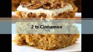 Sara Lee's Carrot Square Cake Secret Recipe -- Discovered!!!