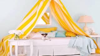 как сделать балдахин над кроватью спальни своими руками