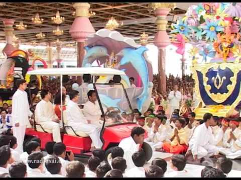 Thursday Divine Darshan of Sathya Sai Baba - Part 113 - Ganesha Chariots Immersion