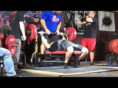 402 lb Bench Press - Good Lift