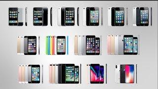 iPhone 進化の歴史