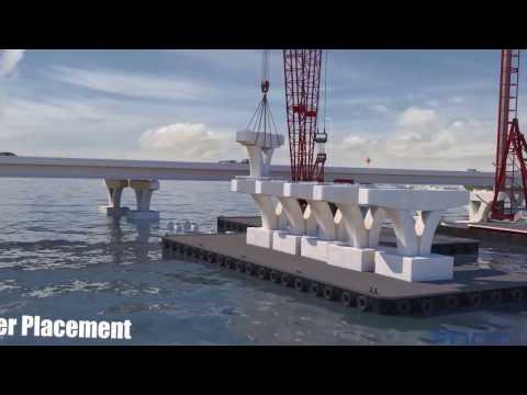 Pensacola Bay Bridge- Animation Tour