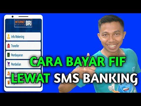 Cara Bayar Fif Lewat Sms Banking BRI