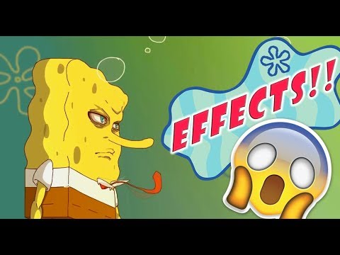 SpongeBob Anime Opening 1 + SOUND EFFECTS ( Official Version ) if spongebob was an anime? UVERWorld