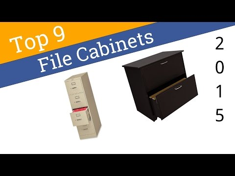 9 Best File Cabinets 2015