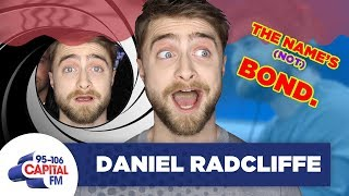 Daniel Radcliffe Shuts Down Rumours He's Playing James Bond 🚫 | FULL INTERVIEW | Capital