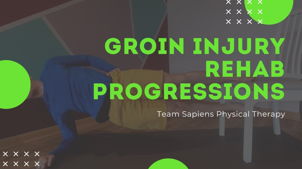Groin injury rehab progressions