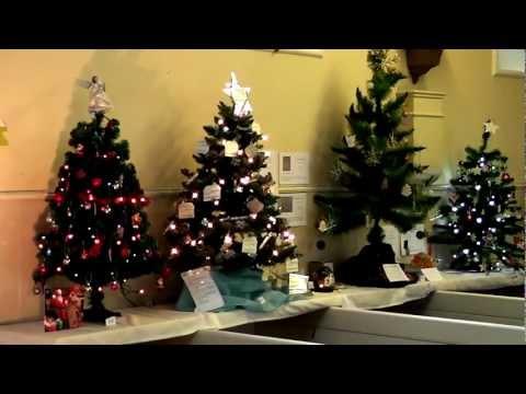 Kirkcudbright Parish Churcn Christmas Tree Festival 2012