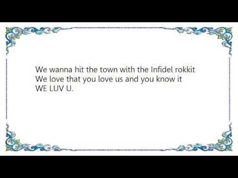 Grand Theft Audio - We Luv You Lyrics