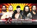 WWE Fatal 5 Way Match Extreme Rules 2017 Highlights