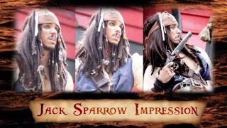 Jack Sparrow Impression (Voice)