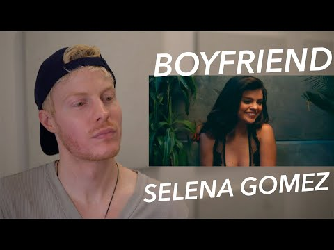 SELENA GOMEZ BOYFRIEND MUSIC VIDEO REACTION