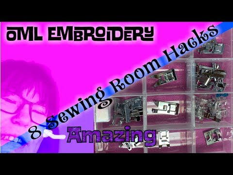 Budget Sewing and Embroidery:  Tools and Hacks from the Dollar Store