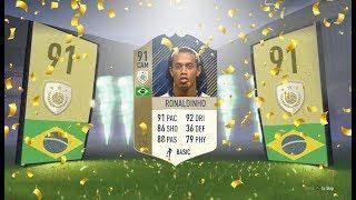 Fifa 18: 91 Ronaldinho Player Review - Fifa 18 Ultimate Team Player Review
