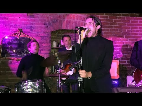 Miles Kane & Matt Bellamy playing The Beatles at birthday party in LA - 28-09-2017