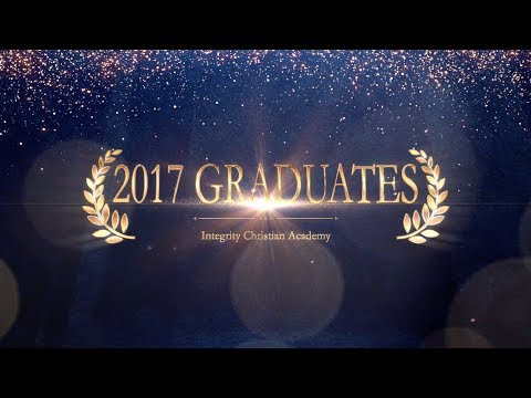 Integrity Christian Academy c/o 2017 graduates