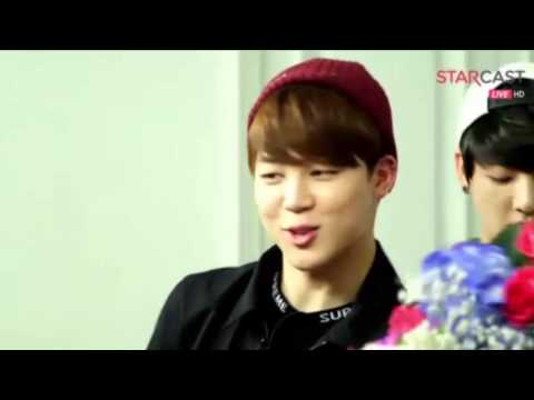 [150429] (Naver Starcast) BTS with flowers