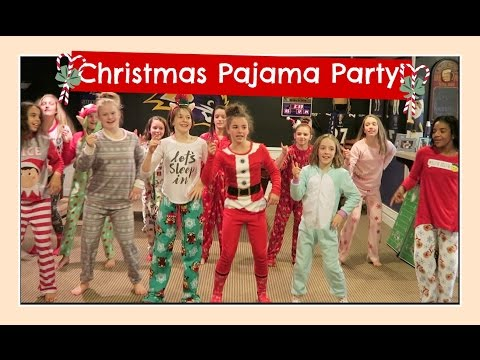 CHRISTMAS PAJAMA PARTY & SECRET SANTA GIFT EXCHANGE | Flippin' Katie