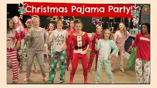 CHRISTMAS PAJAMA PARTY & SECRET SANTA GIFT EXCHANGE | Flippin' Katie