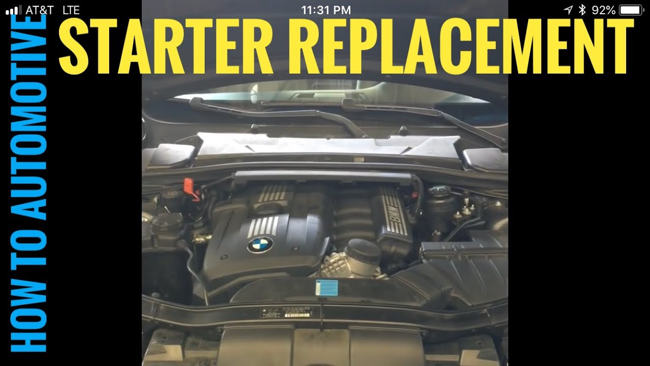 Location Of Starter For 08 Bmw 328i Engine Diagram | Wiring