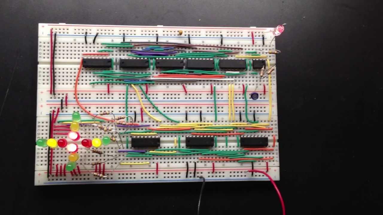ECE 150  Digital Logic Design  Traffic Light Project  YouTube