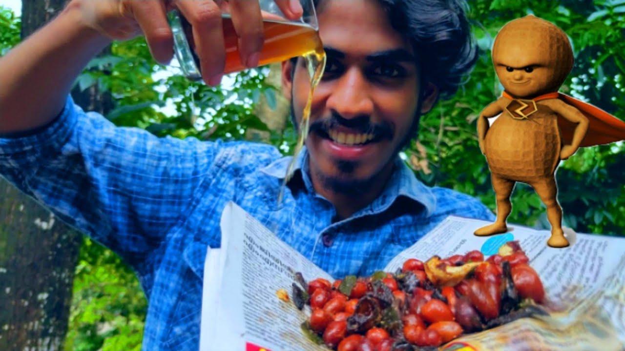 കപ്പലണ്ടി കാപ്പി Combination 🤗 | Variety Peanut Dish | Arjun talks