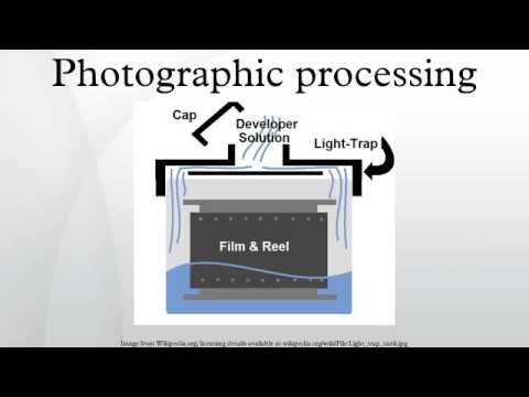 Photographic processing