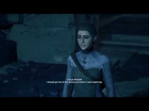 Assassin S Creed Odyssey Layla Goes To The Entrance To Atlantis