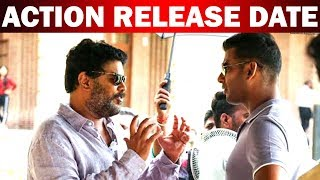 """Vishal's """"Action"""" release date"""