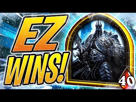 How To Get EZ WINS in BATTLEGROUNDS | The Lich King | Hearthstone Battlegrounds | HS Auto Battler